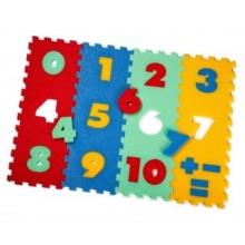 Podlahové puzzle a koberce
