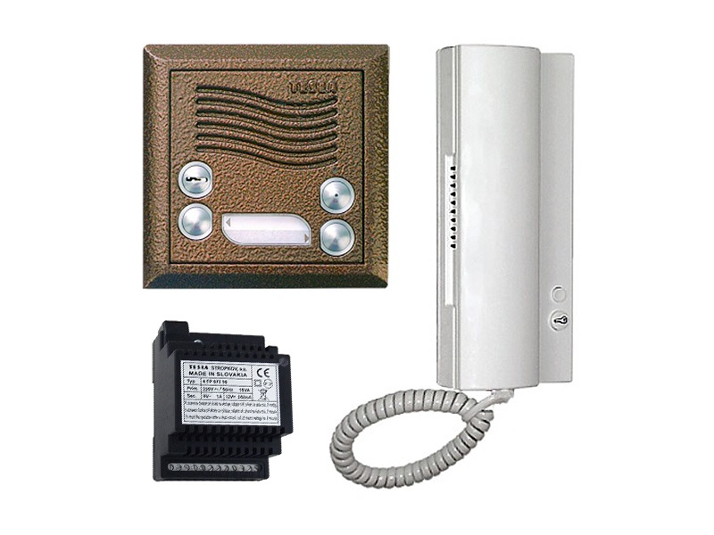 TESLA audio a video telefony